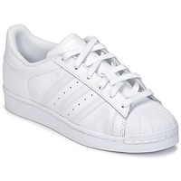 Schuhe Kinder Sneaker Low adidas Originals SUPERSTAR Weiss