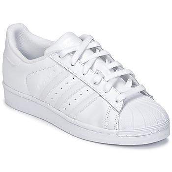 Schuhe Kinder Sneaker Low adidas Originals SUPERSTAR Weiss