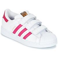 Schuhe Mädchen Sneaker Low adidas Originals SUPERSTAR FOUNDATIO Weiss