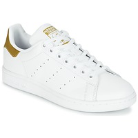Schuhe Kinder Sneaker Low adidas Originals STAN SMITH J Weiss