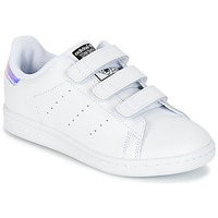 Schuhe Kinder Sneaker Low adidas Originals STAN SMITH CF C Weiss