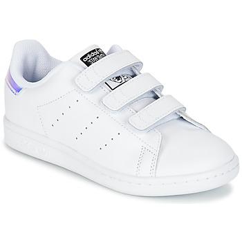 Schuhe Mädchen Sneaker Low adidas Originals STAN SMITH CF C Weiss