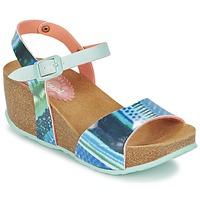 Schuhe Damen Sandalen / Sandaletten Desigual BIO 7 BLUE AQUARELLA Blau