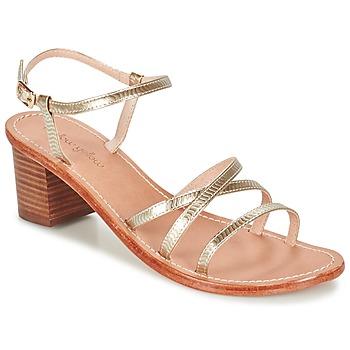 Schuhe Damen Sandalen / Sandaletten Mellow Yellow BALOUNA Gold
