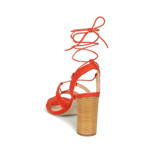 Mellow Yellow BRUNE / Orange  Schuhe Sandalen / BRUNE Sandaletten Damen 97,30 9e64f5