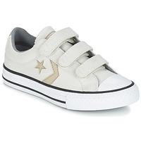 Schuhe Jungen Sneaker Low Converse STAR PLAYER 3V TEXTILE OX Naturfarben / Kaki