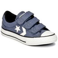 Schuhe Jungen Sneaker Low Converse STAR PLAYER 3V VINTAGE CANVAS OX Blau / Weiss