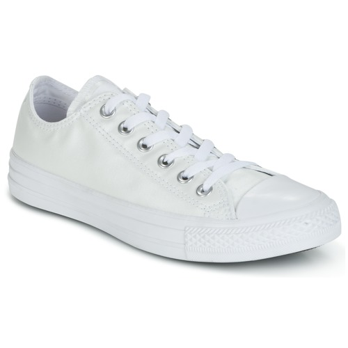 Schuhe Damen Sneaker Low Converse CHUCK TAYLOR ALL STAR SEASONAL METALLICS OX Weiss / Metallic