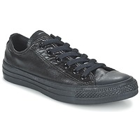 Schuhe Damen Sneaker Low Converse CHUCK TAYLOR ALL STAR SEASONAL METALLICS OX Schwarz