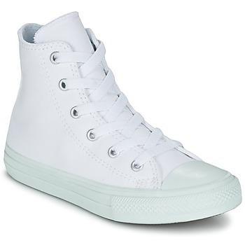 Schuhe Mädchen Sneaker High Converse CHUCK TAYLOR ALL STAR II PASTEL SEASONAL TD HI Weiss / Blau / Himmelsfarbe