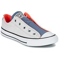 Schuhe Kinder Sneaker Low Converse CHUCK TAYLOR ALL STAR SLIP SUMMER FUNDAMENTALS SLIP Grau / Blau / Orange
