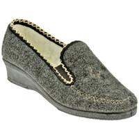 Schuhe Damen Pantoffel Davema 444 pantoletten hausschuhe