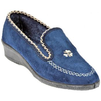 Schuhe Damen Pantoffel Davema 455 pantoletten hausschuhe