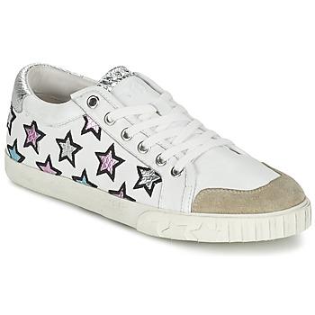 Schuhe Damen Sneaker Low Ash MAJESTIC Weiss