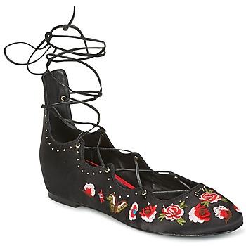 Schuhe Damen Ballerinas Ash INDRA Schwarz