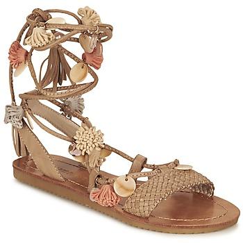 Schuhe Damen Sandalen / Sandaletten Elue par nous ZECTEUR Braun
