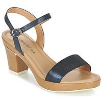 Schuhe Damen Sandalen / Sandaletten Metamorf'Ose ZACQUESTE Blau / Braun