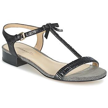 Schuhe Damen Sandalen / Sandaletten Metamorf'Ose ZAFOIN Schwarz
