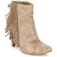 Schuhe Damen Low Boots LPB Shoes CECILIA Beige