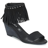 Schuhe Damen Sandalen / Sandaletten LPB Shoes NADIA Schwarz