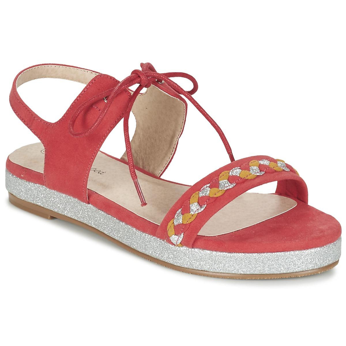 Moony Mood GLOBUNE Rose - Kostenloser Versand bei Spartoode ! - Schuhe Sandalen / Sandaletten Damen 20,99 €