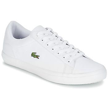 Schuhe Herren Sneaker Low Lacoste LEROND BL 2 Weiss