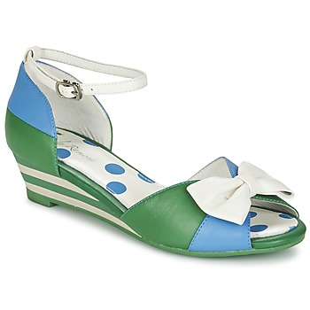 Schuhe Damen Sandalen / Sandaletten Lola Ramona LENNIE Blau / Grün