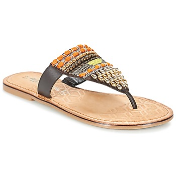 Schuhe Damen Zehensandalen Tamaris NIRI Braun
