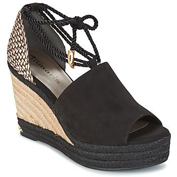 Schuhe Damen Sandalen / Sandaletten Tamaris NERE Schwarz