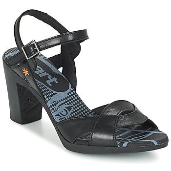 Schuhe Damen Sandalen / Sandaletten Art RIO Schwarz