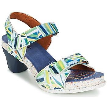Schuhe Damen Sandalen / Sandaletten Art I  ENJOY Blau / Grün