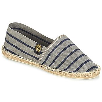 Schuhe Leinen-Pantoletten mit gefloch Art of Soule RAYETTE Grau