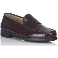 Schuhe Herren Slipper Castellanos Artesanos 350 Rot