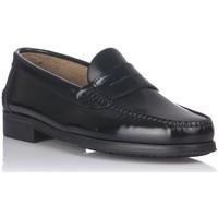 Schuhe Herren Slipper Castellanos Artesanos 350 Schwarz
