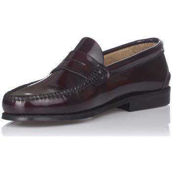 Schuhe Herren Slipper Castellanos Artesanos 600 Rot