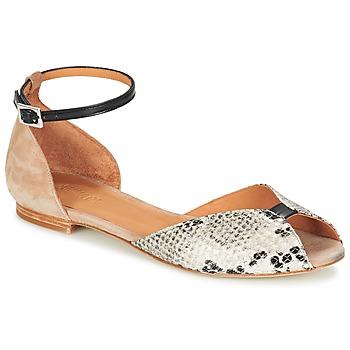 Schuhe Damen Sandalen / Sandaletten Emma Go JULIETTE Beige / Schwarz