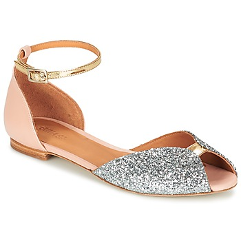 Schuhe Damen Sandalen / Sandaletten Emma Go JULIETTE Rose / Silbern / Gold