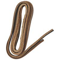 Accessoires Schuh Accessoires Famaco Lacet cuir 120 cm marron fonce Braun