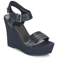 Schuhe Damen Sandalen / Sandaletten G-Star Raw CLARO WEDGE Marine