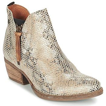 Schuhe Damen Boots Coqueterra LIZZY Beige
