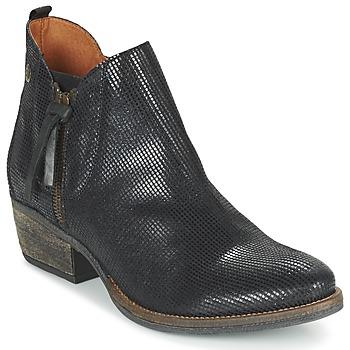 Schuhe Damen Boots Coqueterra LIZZY Schwarz