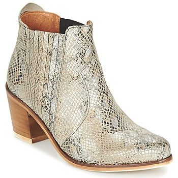 Schuhe Damen Low Boots Coqueterra SHEILA Beige