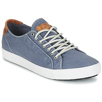 Schuhe Herren Sneaker Low Blackstone NM95 Blau