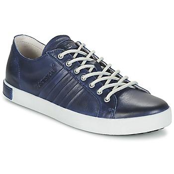 Schuhe Herren Sneaker Low Blackstone JM11 Marine