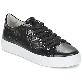 Schuhe Damen Sneaker Low Blackstone NL34 Schwarz