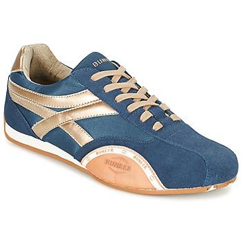 Schuhe Herren Sneaker Low Bunker LEMANS Marine / Gold / Orange