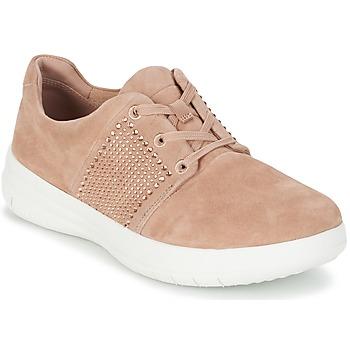 Schuhe Damen Sneaker Low FitFlop SPORTY-POP X CRYSTAL Rose
