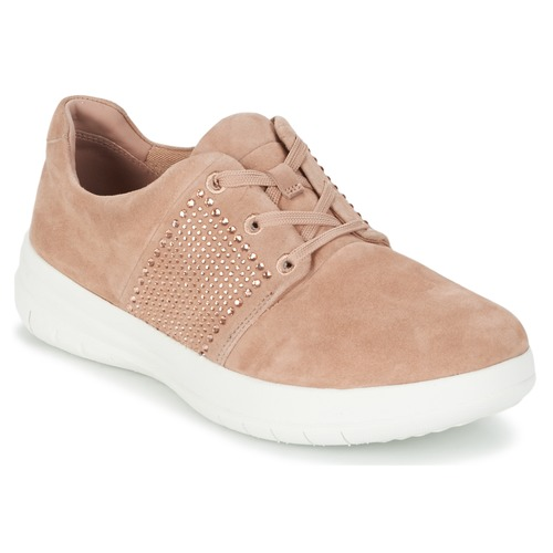 FitFlop SPORTY-POP X CRYSTAL Rose  Schuhe Sneaker Low Damen 103,20