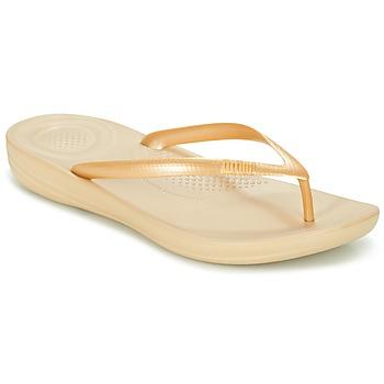 Schuhe Damen Zehensandalen FitFlop IQUSHION ERGONOMIC FLIP-FLOPS Gold
