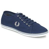Schuhe Herren Sneaker Low Fred Perry KINGSTON TWILL Marine